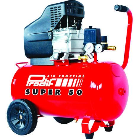 Compresseur coax. 50l 2cv 8b mono avec huile