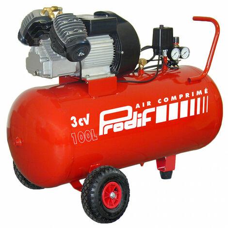 Compresseur coaxial 100L 3CV V204710 PRODIF