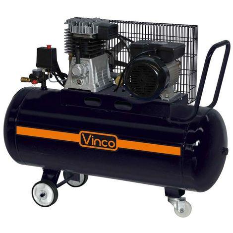 Compresseur d'air 100 litres 3 CV Vinco 60604 52