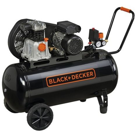 Compresseur d'air 100 lt 2CV Black and Decker BD 220 / 100-2M
