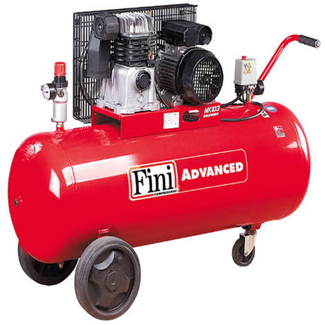 Compresseur d'air 150L 3CV FINI MK 103-150-3M