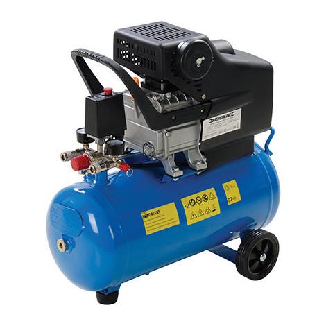 Compresseur d'air 2 ch - 1 500 W 230V - 24 L - 324178 - Silverline - -