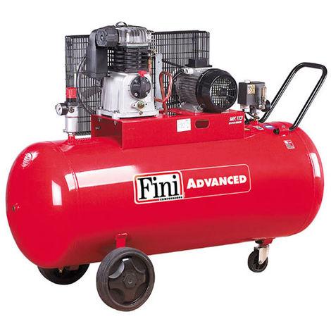 Compresseur d'air 200L 4CV FINI MK 113-200-4