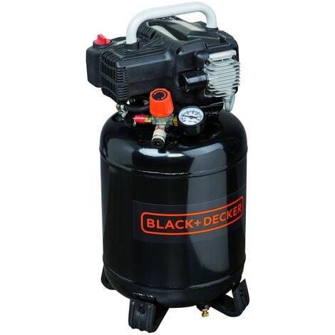 Compresseur d'air 24 litres 1,5CV Black and Decker BD 195 / 24V-NK