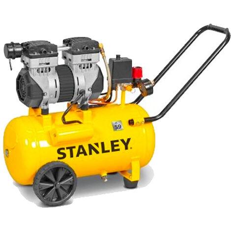 Compresseur d'air 24 lt silencieux Stanley DST 150/8/24