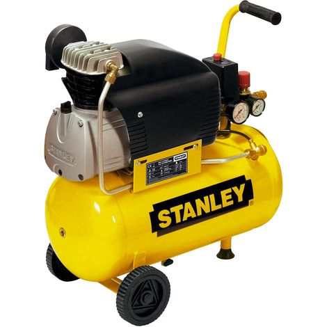 Compresseur d'air 24L 2CV Stanley D 210/8/24
