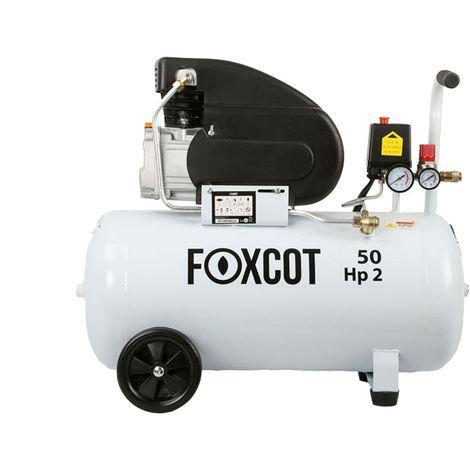 Compresseur d'air 50 litres 2CV Foxcot FL50