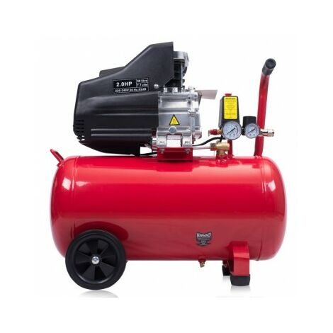 Compresseur d'air 50L - 2.0HP 7.7CFM 116 PSI 1.5kW
