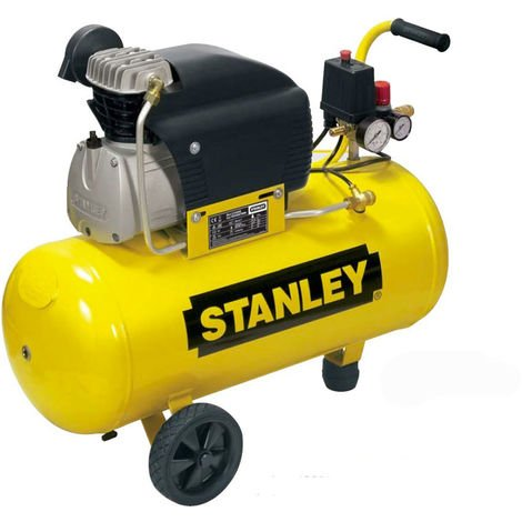 Compresseur d'air 50L 2CV Stanley D 211/8/50