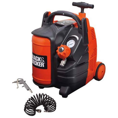 Compresseur d'air 5L portatif Black & Decker BD 195/5 MY-T