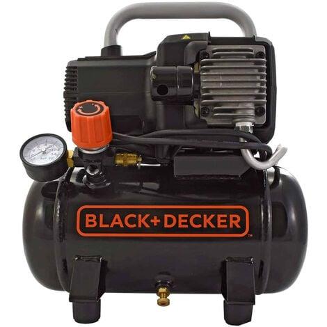 Compresseur d'air 6 litres 1,5CV Black & Decker BD 195/6 NK