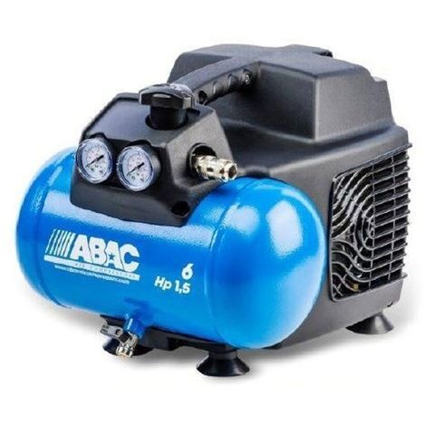 Compresseur d'air 6L 1,5CV Abac Start O15