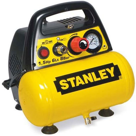 Compresseur d'air 6L portatif Stanley DN 200/8/6