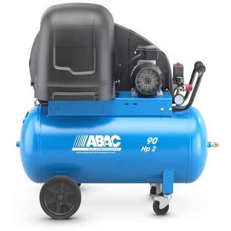 Compresseur d'air 90 litres 2CV ABAC S A29B 90 CM2