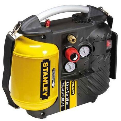 Compresseur d'air portable 5L 1,5CV Stanley DN 200/10/5