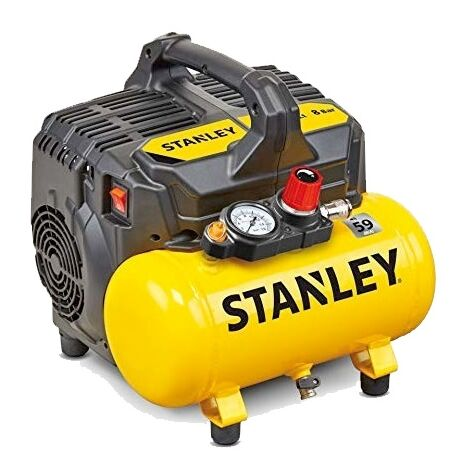 Compresseur d'air portable 6 lt Stanley DST 100/8/6 silencieux