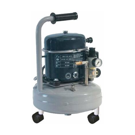 Compresseur d'air silencieux 9L 340W