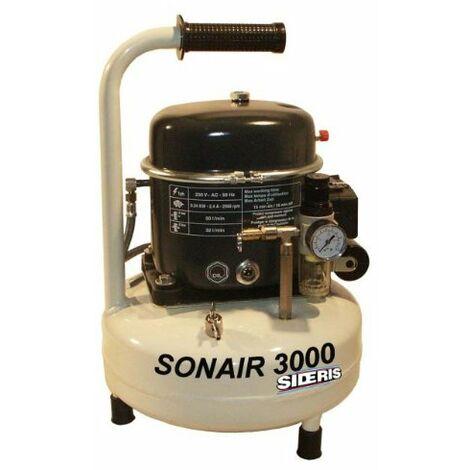 Compresseur d'air silencieux 9L 340W SONAIR 3000