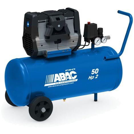 Compresseur d'air silencieux Abac Montecarlo OS20P 50 litres 2.0Hp
