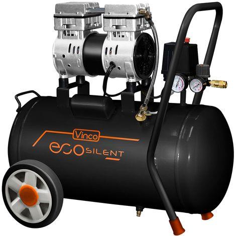 Compresseur d'air super silencieux Vinco KWU750-50L de 50 lt