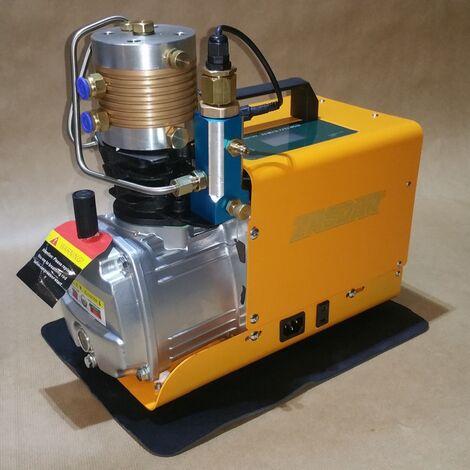 Compresseur digital avec arrêt automatique 110/220v pour PCP 300 Bar. (4500PSI/30MPH)