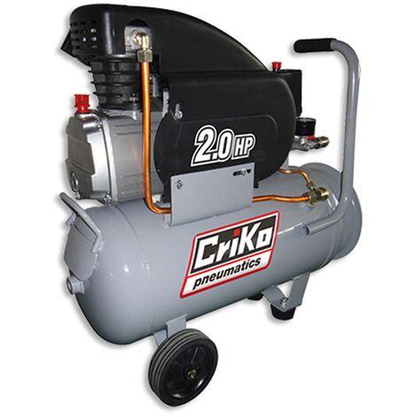 Compresseur double sortie Criko 24L