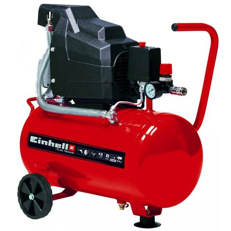 compresseur Einhell TC-AC 190/24/8 - 2850 RPM - 1500 W S2 15 min