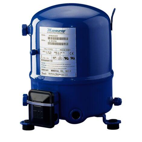 Compresseur Maneurop MTZ-28-4Vi R513A R404A R452A 2 R134A R407C R448A R449A 400V haute température 48,06cm3