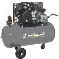Compresseur Michelin 100 Litres 3 CV 10 bars avec trousse accessoires