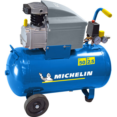 Photo de compresseur-michelin-50-litres-2-cv-coaxial