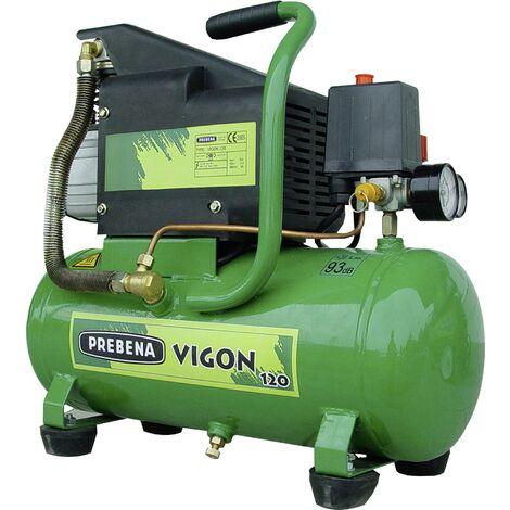 Compresseur pneumatique Prebena Vigon120 12 l 8 bar Q976342