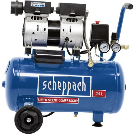Compresseur pneumatique Scheppach 5906131901 24 l 8 bar