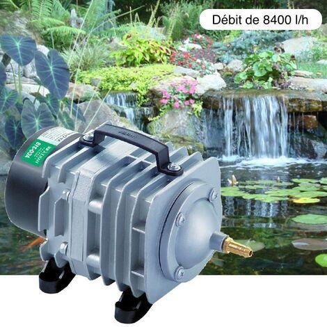 Compresseur - pompe à air 8400 l/h pour bassins de jardin et étangs