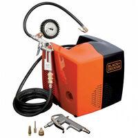 Compresseur portatif 180 l/mn, 1,5 CV, 8 bar, sans huile, CUBO