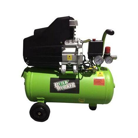 Compresseur pour air comprimé 2CV cuve 24 litres