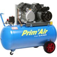 Compresseur Prim'Air 21/100 100L 21M³/H Mono 3 CV 10 bars LACME - 122200