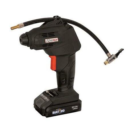 Compresseur r-bat20 batterie 20 Volts 2amp avec embouts