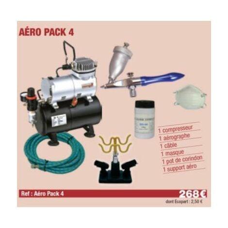Compresseur + Sableur + Sable + masque + c ble + Support Aérographe