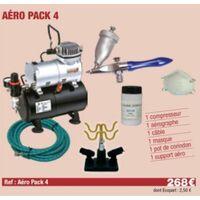 Compresseur + Sableur + Sable + masque + câble + Support Aérographe