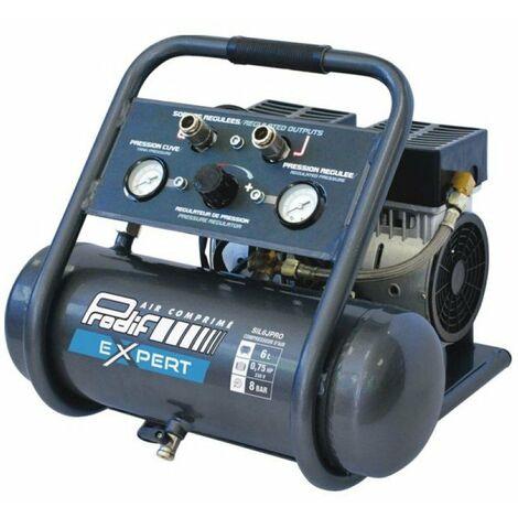Compresseur silencieux 6l 0,75hp pro sil6jpro