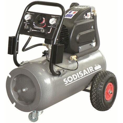 COMPRESSEUR SODISE A ENTRAINEMENT DIRECT 50L 8 BAR 2.5 CV -11130 - -