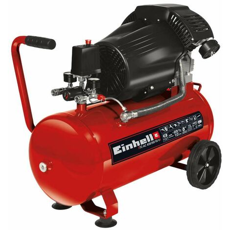 Compresseur TC-AC 420/50/10 V - Puissance d'aspiration 420 l/min - Pression max. 10 bar - 2200W