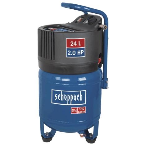 Compresseur vertical 24 litres HC24V Scheppach 5906117901