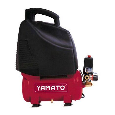 Compresseur yamato 6 litres 1,5hp sans huile