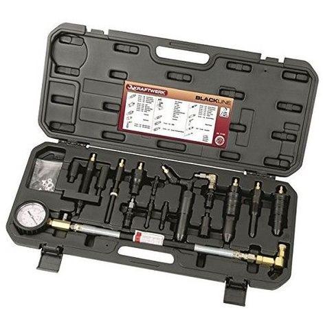 Compressiomètre et testeur d'étanchéité de cylindre-Diesel Kraftwerk 31106 491.62