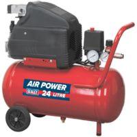 Compressor 24ltr Direct Drive 1.5hp