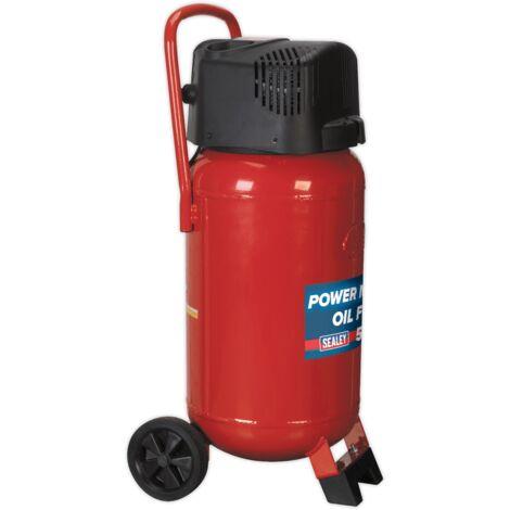 Compressor 50ltr Belt Drive 2hp Oil Free