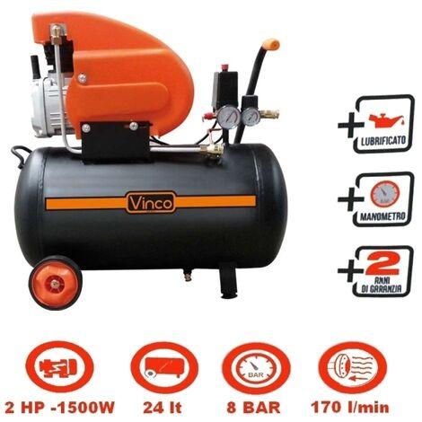 Compressore 24lt. ad olio Vinco - 60600 FDL24