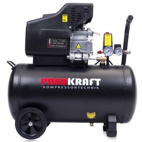 Compressore 50L LITER 2.0HP 7.7CFM 116 PSI 1.5kW
