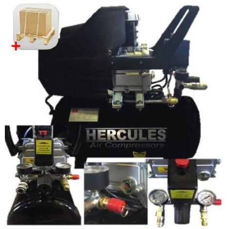 Compressore 50Lt Lubrificato 2Hp Manometri 8 Bar 2 Attacc. Rapidi Tipo Einhell